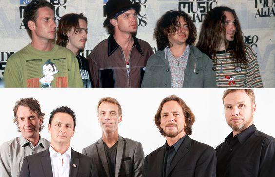 Ídolos pop de los noventa: antes y ahora