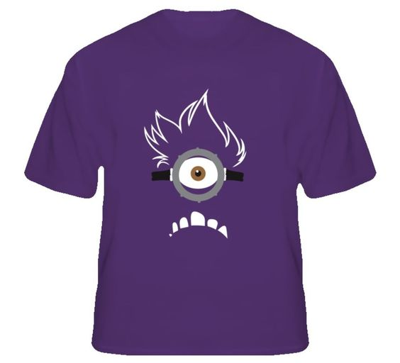 Despicable Me 2 Purple Minion Shirt 74