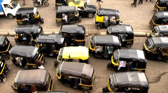 Cabs on strike against Uber, passengers stranded