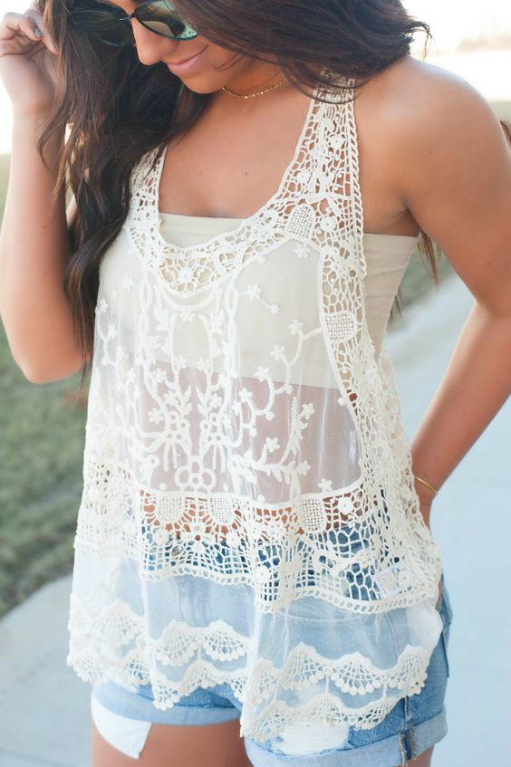 Insanely Cute Lace Blouses