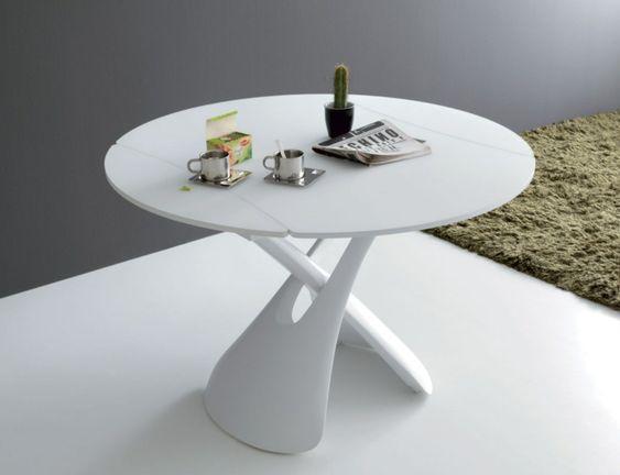 La Table Basse Relevable Pour Votre Salon Fonctionnel Archzine Fr Table Basse Relevable Table Relevable Table Basse