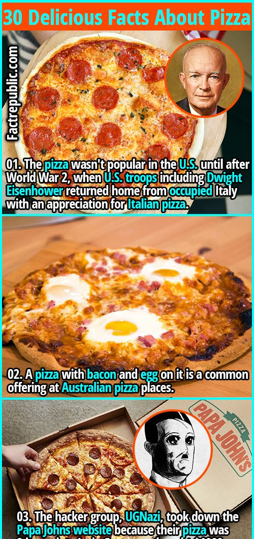 30 Delicious Facts About The Food That Brings Families Together Pizza Fact Republic Food Facts About Pizza Delicious