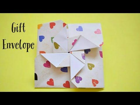 Easy Gift Card Envelopes For Valentines Day Diy Gift Ideas For Valentine S Day Valentinesgift Gift Card Envelope Gift Card Presentation Valentines Envelopes