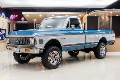 1972 Chevrolet C K Pickup 2500 Cheyenne 4x4 Pickup Truck Old