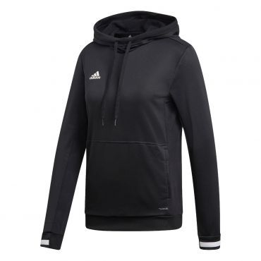 adidas Team19 Hoody dames black white | Hoodies, Black