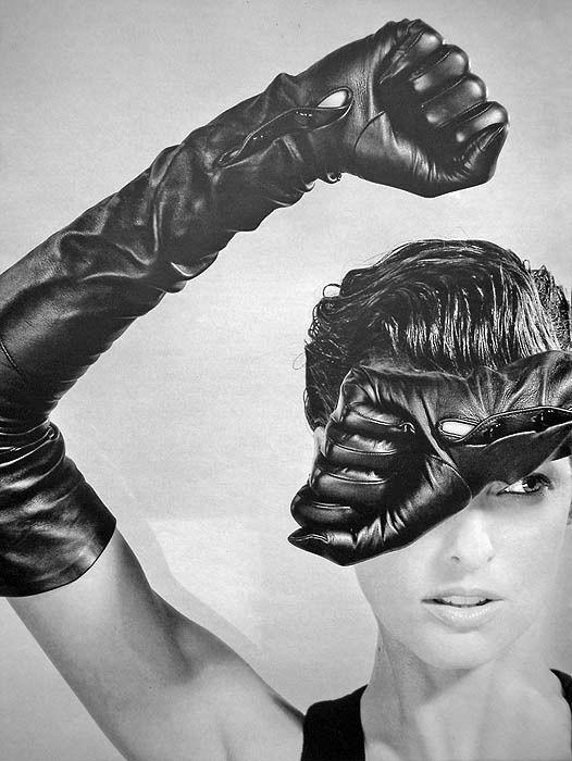 "designerleather: "" Linda Evangelista for Karl Lagerfeld """