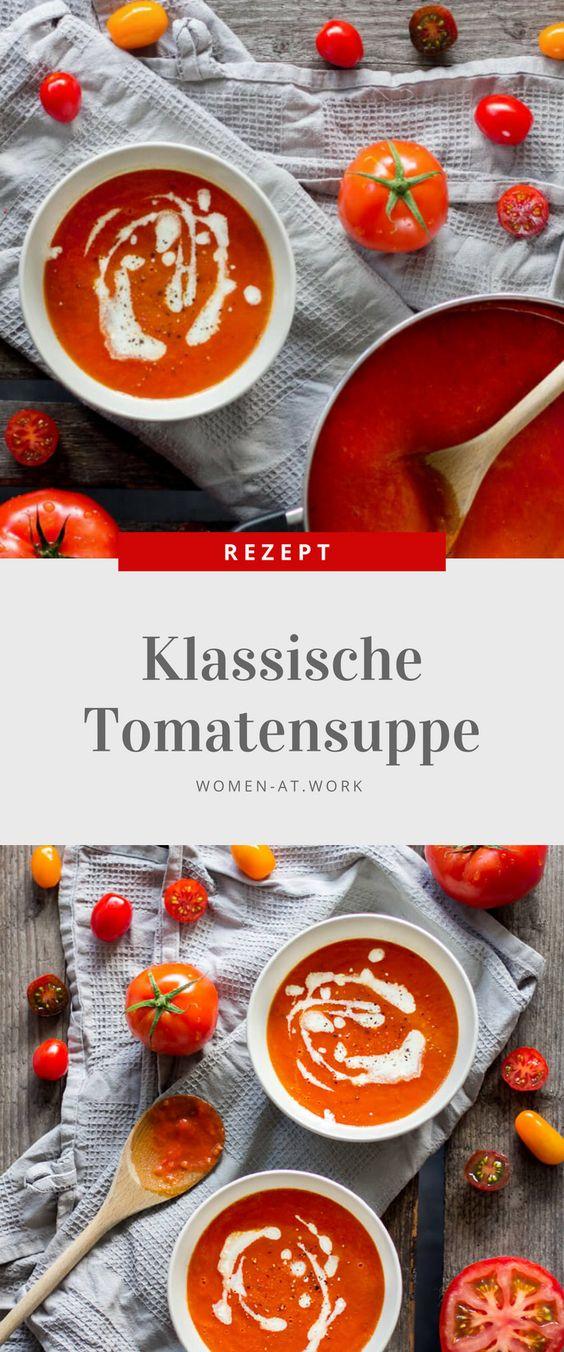 Jetzt ist Tomatenzeit und was kann man besseres aus Tomaten machen, als eine schöne, aromatische Suppe? Diese Suppe wird sicher bei euren Freunden, eurer Familie oder euren Kollegen gut ankommen. Das beste ist, dass ihr sie nicht einfach nur so gut ins Büro mitnehmen könnt, sondern sie auch alternativ als Tomatensoße für diverse Gerichte nutzen könnt!