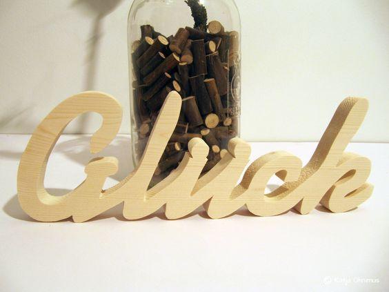 Schriftzug-Glück http://de.dawanda.com/shop/kuenstlerei