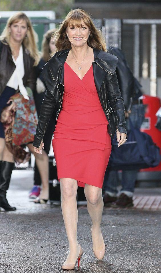 Walking tall: She told host Lorraine Kelly, 'I was in better shape then when I was when I ...