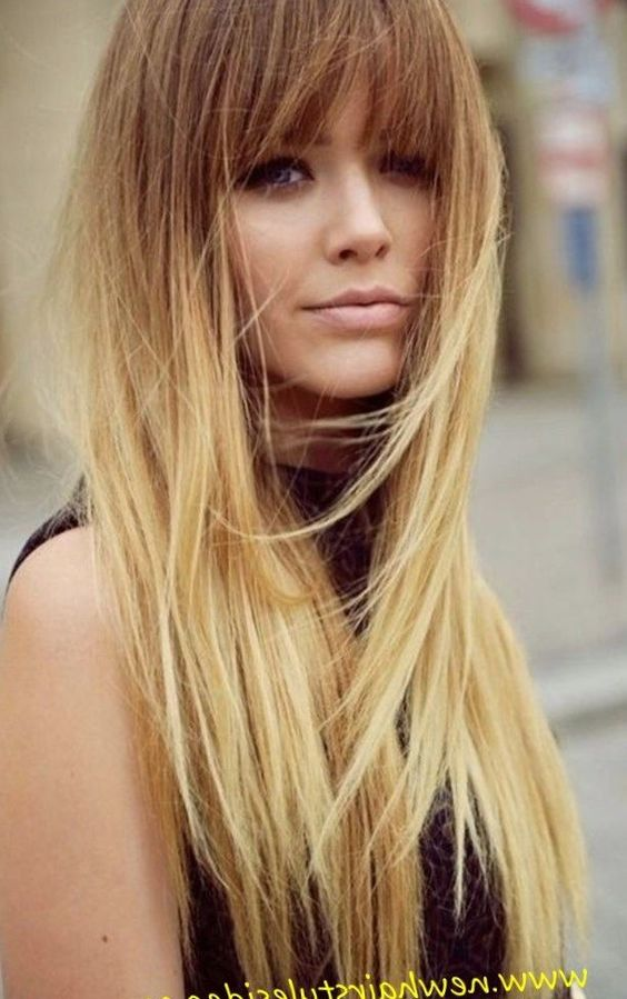 Blonde hairstyles with fringe 2017 - http://trend ...