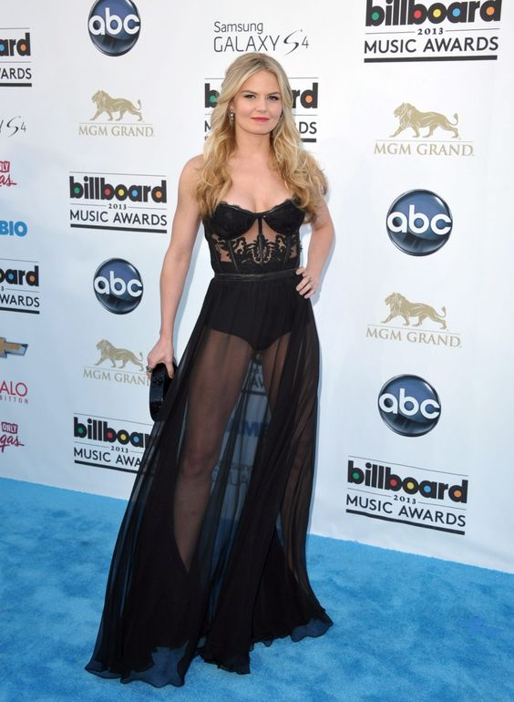 Jennifer Morrison arrives at the Billboard Music Awards at the MGM Grand Garden Arena in Las Vegas on Sunday, May 19, 2013. (John Shearer/Invision)