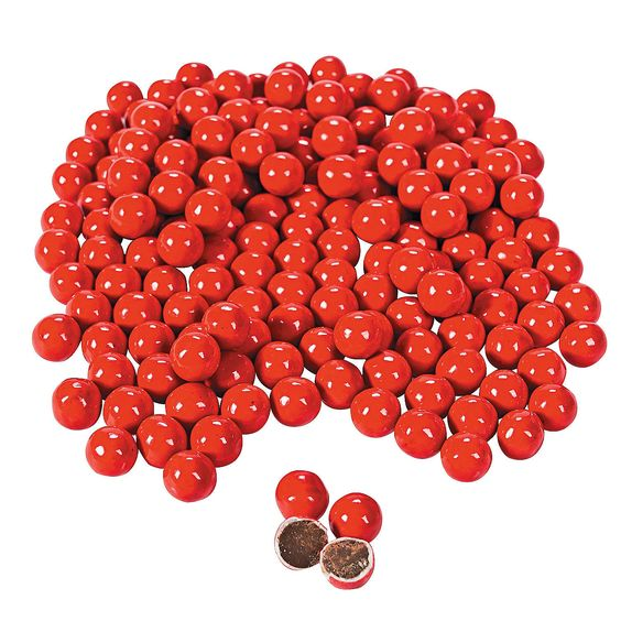Red Chocolate Candies - for use as wedding favor