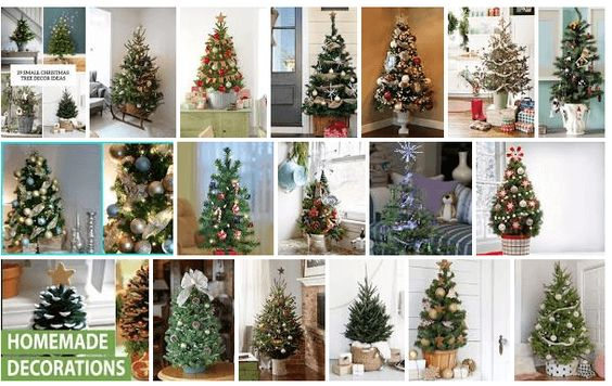 Small Christmas Tree Decorating Ideas 2019 Miniature