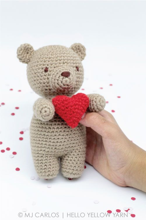 50 Free Crochet Teddy Bear Patterns ⋆ DIY Crafts | 750x500