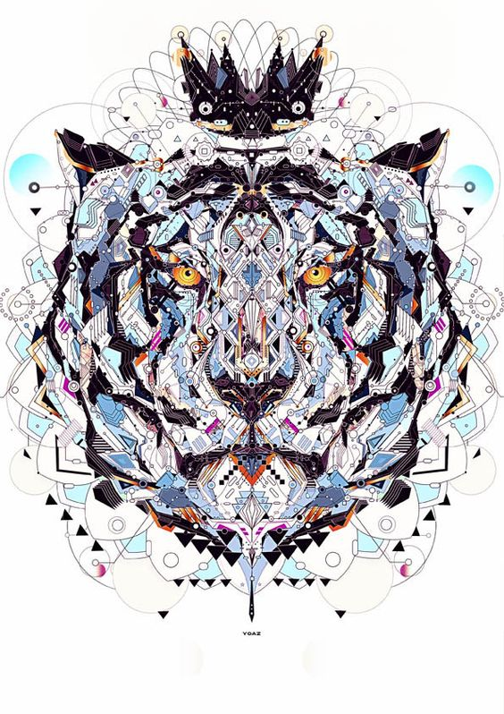 tiger art tumblr - Buscar con Google