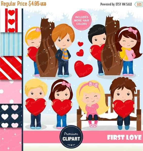 Valentines day clipart, Valentine kids clipart, Love clipart ...