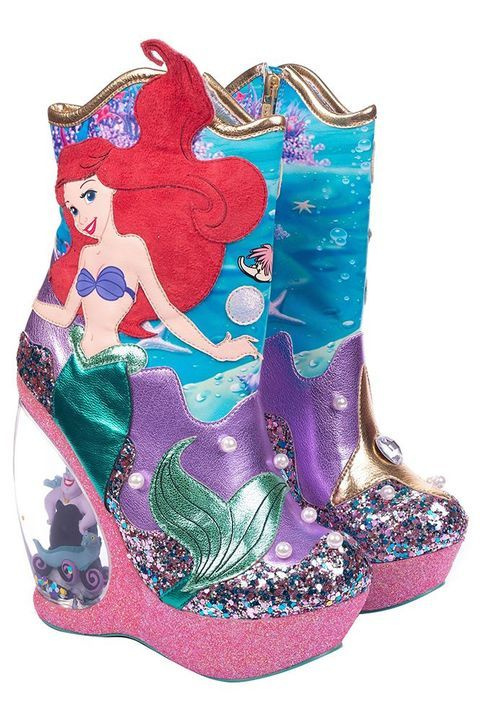 These 'Little Mermaid' Wedge Boots for