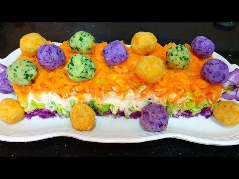 Salade Variee Et Moderne سلطة متنوعة و عصرية لرمضان انشالله Youtube Food Breakfast