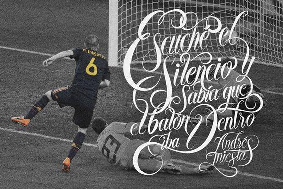 Fútbol Quotes by Alan Guzman, via Behance