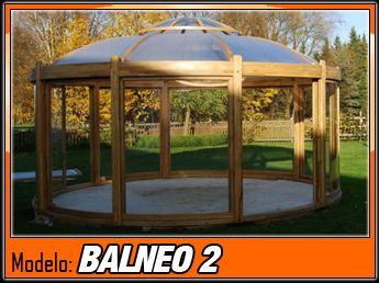 Cenador de madera Balneo 1 - 430cm - Casas de Madera y bungalows en Tarragona…