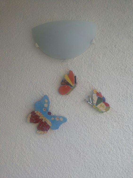 Mariposas para la terraza