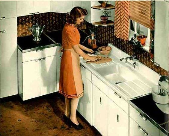 Pin By Kate Battaglia On 1950s Women In The Kitchen Metal Kitchen Cabinets Steel Kitchen Cabinets Vintage Metal Cabinet