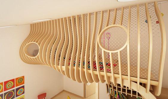 Kindergarten Empore - Okinlab werkraum-empore Pinterest - wohnideen aktie kindergarten