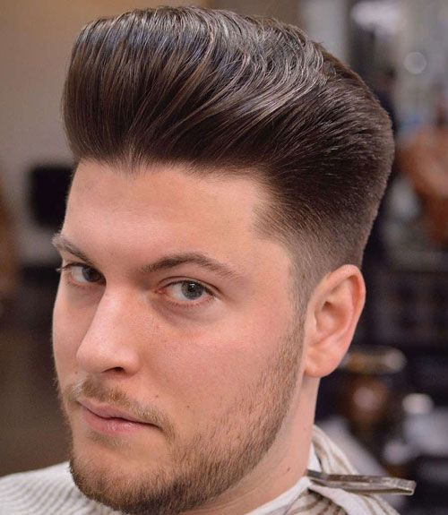 45 Cool Pompadour Haircuts Hairstyles For Men 2020 Guide Pompadour Hairstyle Mens Hairstyles Wavy Hair Men