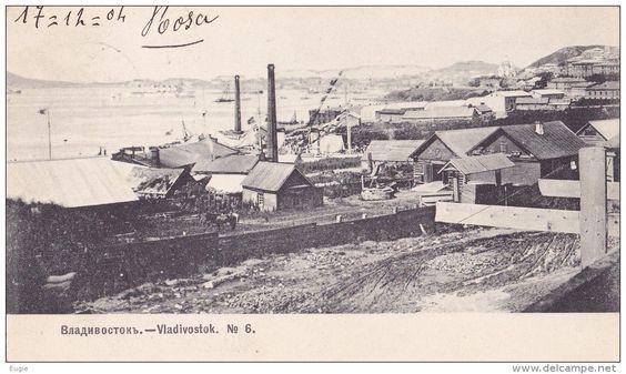 715/ Vladivostok, Russie, 1904