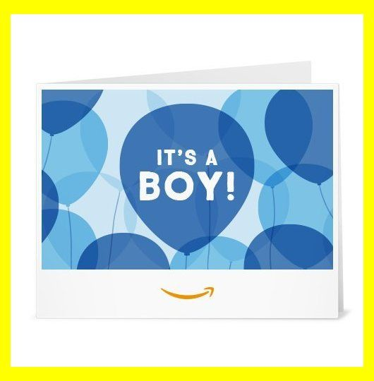 Amazon Com Amazon Gift Card Print It S A Boy Balloons Baby Boy Gifts Gift For Baby Bo Gift Card Printing Its A Boy Balloons Printed Cards