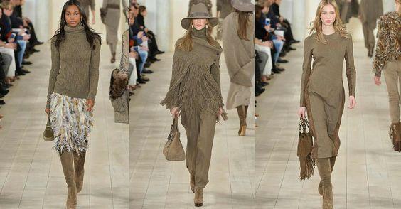Tendencias de moda otono invierno 2015-2016