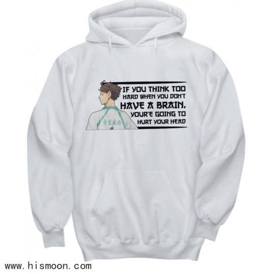 Tooru Oikawa Quote Anime Hoodies Anime Gift Store Anime Gifts Anime Hoodie Hoodies