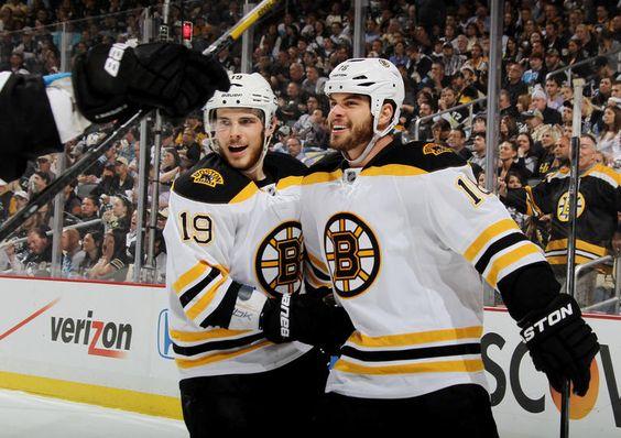 Hot Bruins Boys dominating game 2 v Penguins series