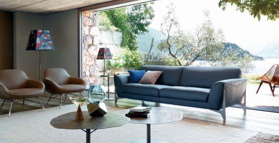10 Contemporary Modern Sofas By Roche Bobois That Will Impress You | Living Room Sofa. Leather Sofas #modernsofas #leathersofa #livingroomideas Read more: http://modernsofas.eu/2016/09/01/contemporary-modern-sofas-roche-bobois-impress/