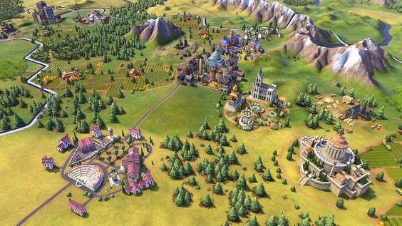 Видео ролик новой RPG стратегии Sid Meier's Civilization 6