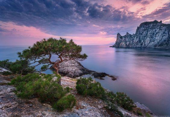 Rose sunset in Crimea by Denis Belitsky - Photo 116193365 / 500px