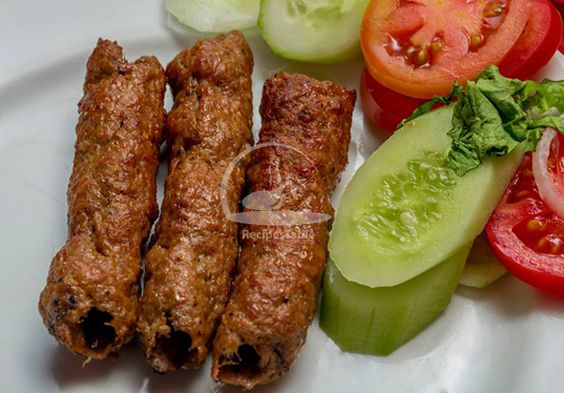 A spicy and extremely flavorful Beef Seekh Kebab Recipe which will surely be a hit at any BBQ party. Check it out the Beef Seekh Kebab Recipe here!