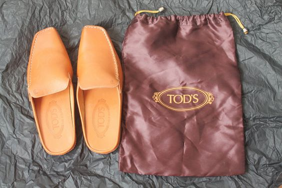 Tod's Slippers Designer Shoes Womens Leather by TequilaCloset, $150.00