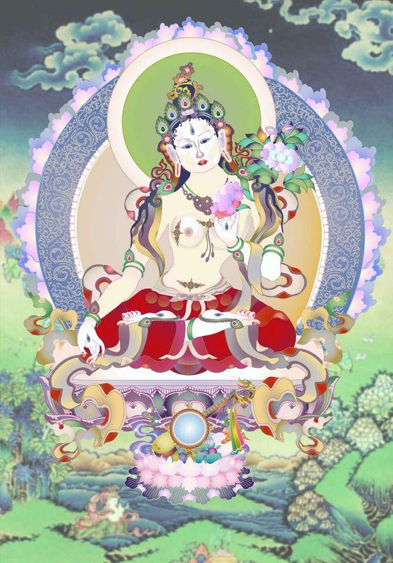 Resultado de imagen para diosa tibetana