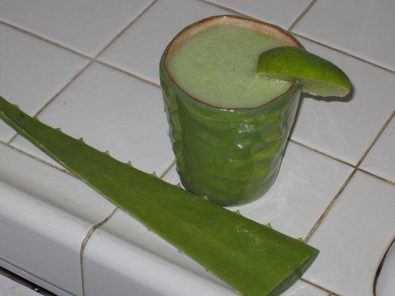 jugo de Sabila, Nopal, Limon Y Ajo- para los Diabeticos o