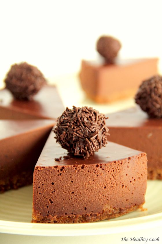 Chocolate, Coconut & Chestnut Torte - Cake with Chocolate, Coconut & Chestnuts