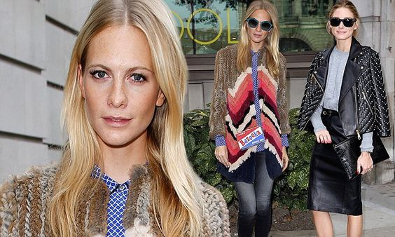 Poppy Delevingne and Olivia Palermo hit OSMAN and Anya Hindmarch shows