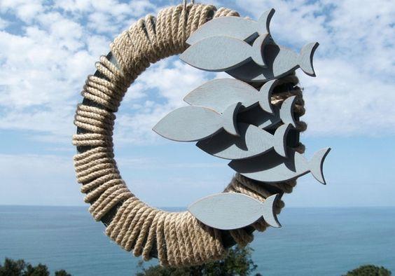 nuvole di legno: ACCIUGHE, CAVALLUCCI e STELLE MARINE