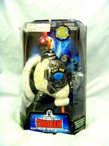 Robot Chicken Doll!