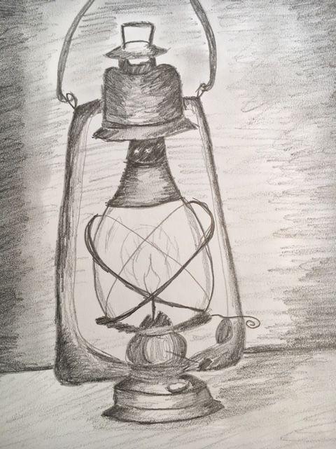 Pencil Drawing Gas Lamp Still Life Drawing Life Drawing Pencil Drawings