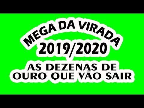 Mega Da Virada 2019 2020 Veja As Dezenas De Ouro Que Vao Sair