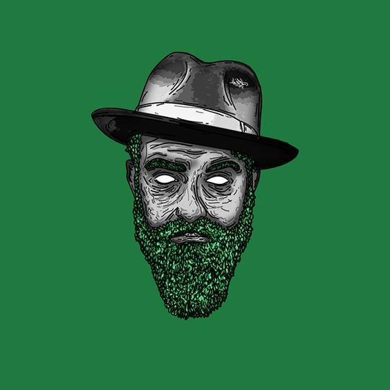 Beardy Hombre de caracteres en Behance