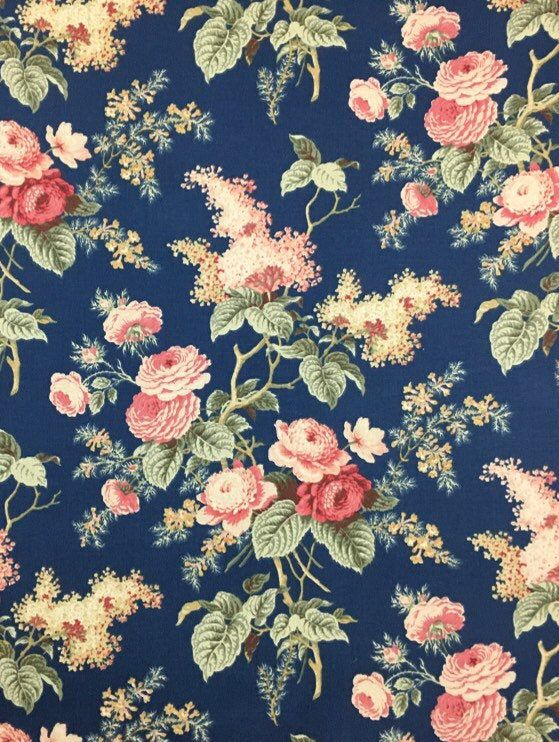 Waverly Floral Print Fabric Floral Upholstery Fabric Etsy Floral Upholstery Floral Upholstery Fabric Vintage Floral Fabric