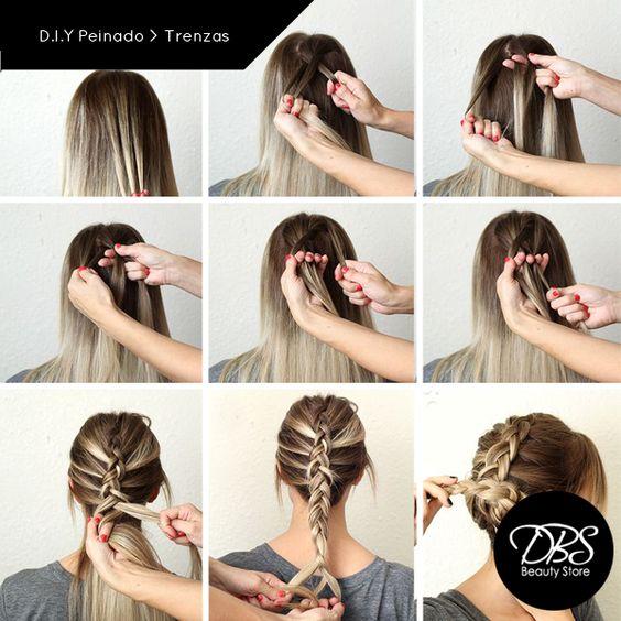 D.I.Y Peinado Si buscas lucir un peinado espectacular, sigue este paso a paso y luce