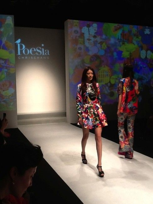Poesia by Chris Chang, Day 1 at Shanghai Fashion Week